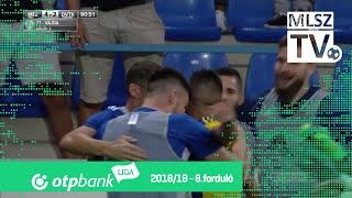 Vajda Sándor második gólja a Mezőkövesd Zsóry FC - DVTK mérkőzésen