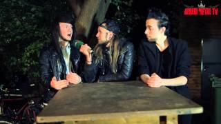 We Butter the Bread with Butter Interview im SO36 Berlin - BERLIN METAL TV