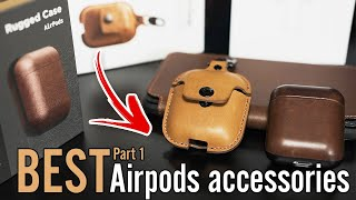 Best Airpods Accessories You NEED | Nomad Airpods Case & AirSnap Case