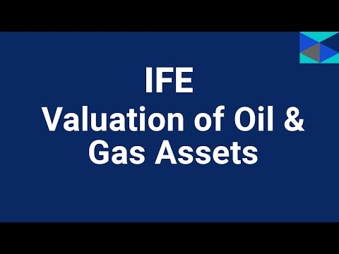 Valuation of Oil & Gas Assets training course