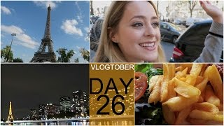 Sunshine and Rain in Paris! Vlogtober 26