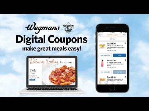 graphic relating to Wegmans Printable Coupons named Electronic Discount codes - Wegmans