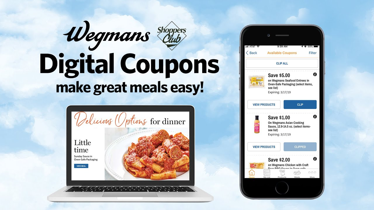 photograph relating to Wegmans Printable Coupon referred to as Electronic Discount codes - Wegmans