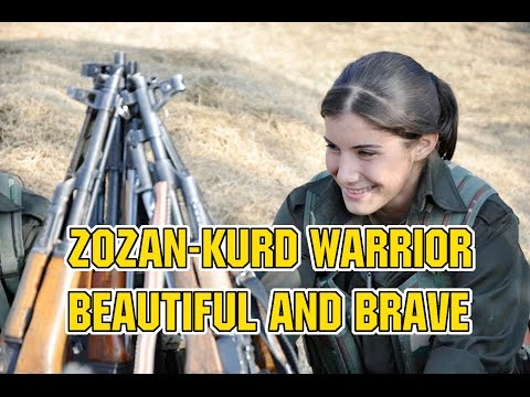 ZOZAN,THE BEAUTIFUL KURD WARRIOR Christians Hope
