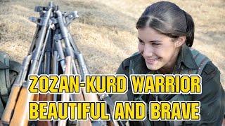 ZOZAN,THE BEAUTIFUL KURD WARRIOR Iraq's Christians Hope