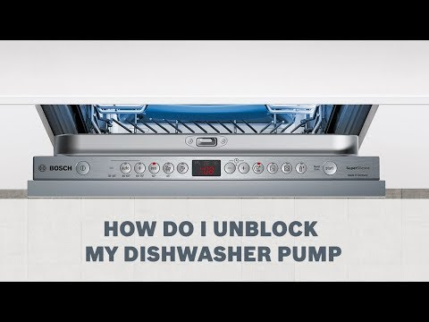 How Do I Unblock My Dishwasher Pump - Cleaning & Care