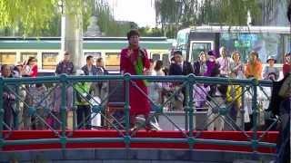 2012.11.3 南国土佐を後にして歌碑完成除幕式典で歌いました。