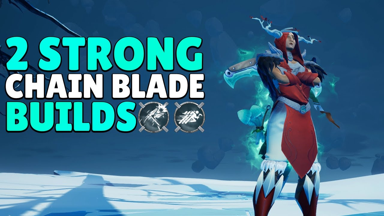 Strong Chain Blade Builds - DPS Chain Blade Gameplay - Dauntless Patch 0 7 2