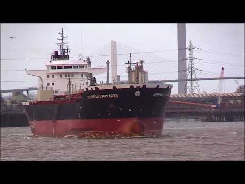 Thames Shipping by R.A.S. The SEYCHELLES PROGRESS  Tanker, 07/01/2018