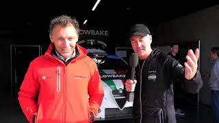 Barry Rogers chats with Romeo Ferraris bosses