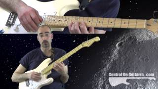Lick Guitarra Rock Blues con Dobles Notas o Doble Stops Escala Pentatonica Principiantes