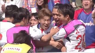 ダイレクトパスに反応して最終ラインを抜け出した永井 謙佑(FC東京)が...