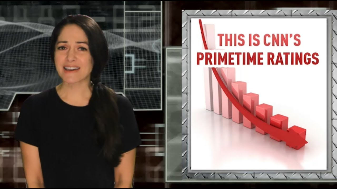 CNN prime time ratings plummet 30% compared to this time last year