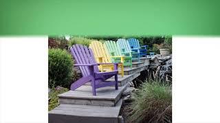 Breezesta Shoreline Adirondack Chair | Premium Poly Patios :  (877-904-1234)
