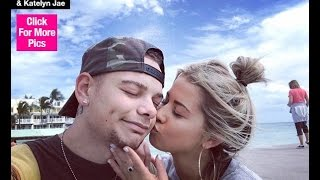country star kane brown engaged to katelyn jae watch his cute announcement