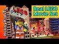 HobbyKids go to The LEGO Movie Hollywood Set at LegoLand California