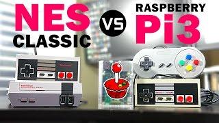 Nintendo NES Classic vs Raspberry Pi3 + RetroPie