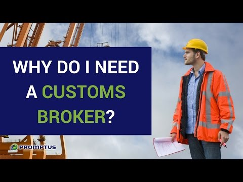 Why Do I Need A Customs Broker? | Promptus LLC, We Simplify Your Customs Clearance