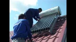 видео Как работают солнечные водонагреватели? © Солнечные.РУ