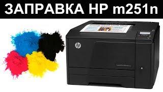 ЗАПРАВКА ЦВЕТНОГО HP M251/ HP CP1215/ CANON LBP 5050