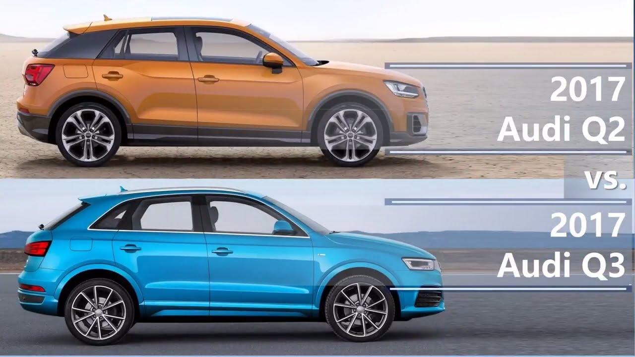 2017 Audi Q2 Vs 2017 Audi Q3 Technical Comparison Youtube
