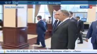 Жириновский провел урок литературы для азербайджанских школьников