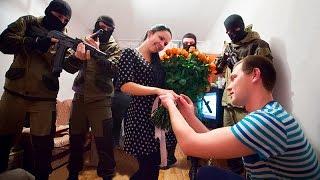 Предложение выйти замуж (не постановка) г.Краснодар Proposal to marry. English subtitles