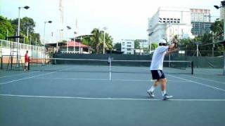 Andy Kim : Forehand Stroke _ Ultra Slow Moving Picture