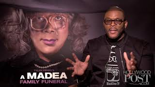 Tyler Perry On Getting Pulled Over By Police 🚔 👮- A Madea Family Funeral ⚰️