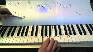 Snow White & the Huntsman- Piano Lesson- (Gone- Funeral of the Dwarf)   Todd Downing