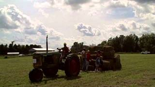 Oxford Antique Hay Baler Days 2011