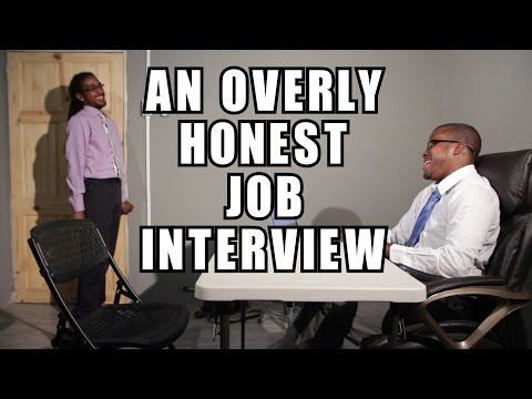 An Overly Honest Job Interview (Trinidad Comedy)
