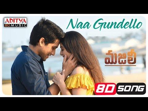 Naa Gundello3D SONG || MAJILI Songs || Naga Chaitanya, Samantha