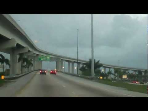 (Part 9) Driving I-95 To Florida Turnpike Toll For Sun Life Stadium (WrestleMania 28)