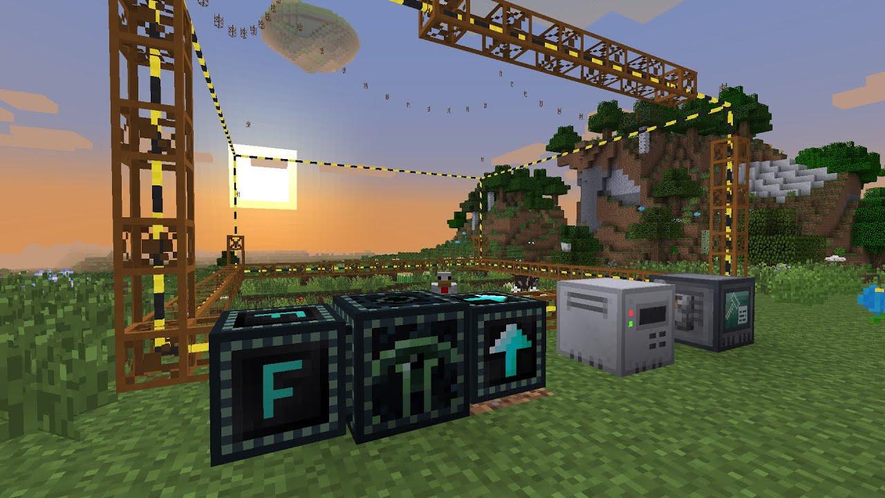 FTB INFINITY EVOLVED [FR] - Solo - Ep  6 - Quarry, Ender Quarry et Builder  Block - MINAGE AUTO