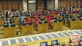 Julius Malema Shouting At Speaker Baleka Mbete