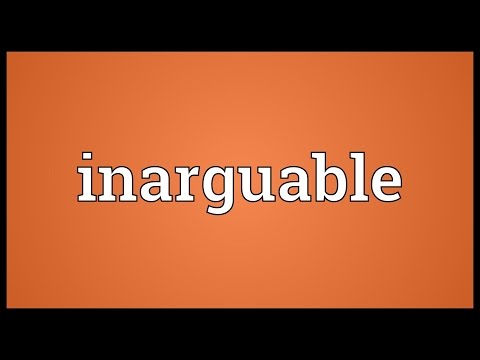 Header of inarguable