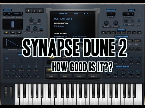 Synapse Audio DUNE VSTi Free Download