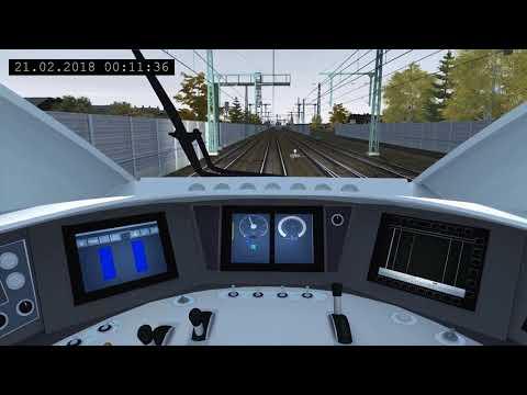 Train Simulator Gameplay ICE 881 am 21.02.2018