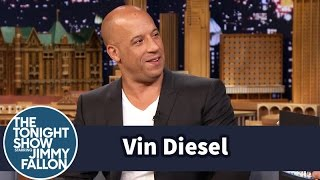 Vin Diesel Says I Am Groot in Multiple Languages(Jimmy speaks to Vin Diesel about his movie Guardians of the Galaxy, and Jimmy tests Vin's bilingual skills. Subscribe NOW to The Tonight Show Starring Jimmy ..., 2014-07-30T10:00:03.000Z)