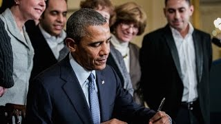 Obama Signs Executive Order On Overtime Pay