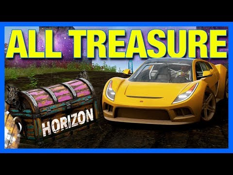 Forza Horizon 4 Fortune Island : ALL RIDDLES, TREASURE CHEST LOCATIONS + PRIZES!!