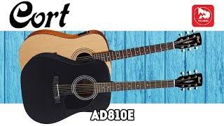 Электроакустика CORT AD810E (гитара с подключением)
