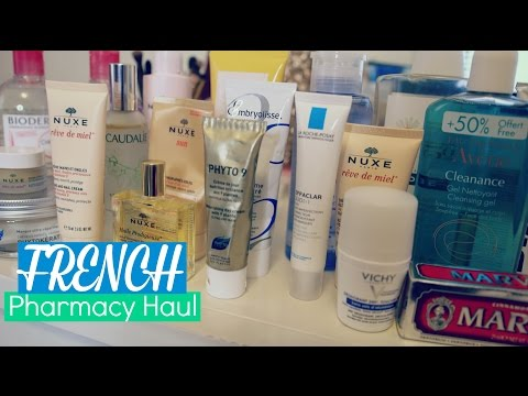 French Pharmacy Haul l Tons of Skincare & Haircare!