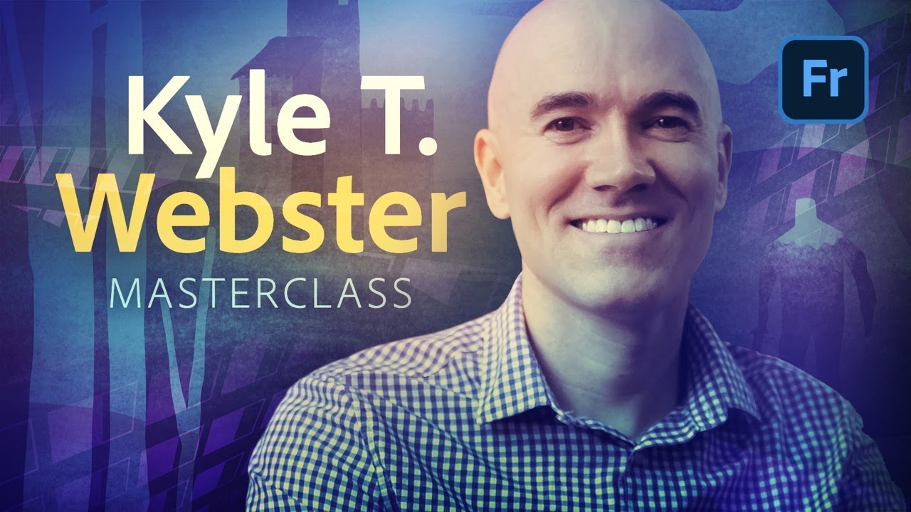 Illustration Masterclass with Kyle T. Webster - Live Oils in Adobe Fresco