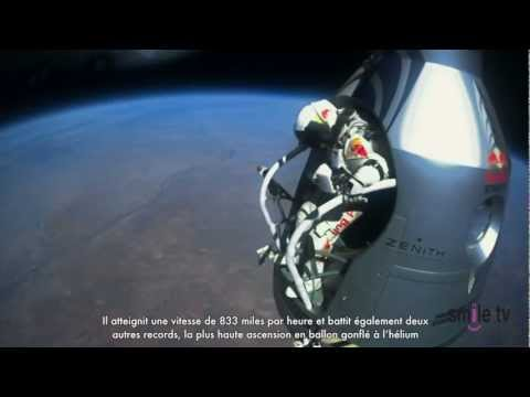 Felix Baumgartner Breaks Speed of Sound in Free Fall with Red Bull - Inspiring Success Story