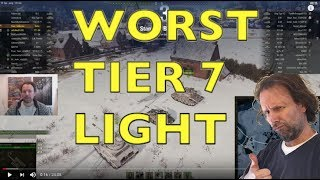 WOT - Worst Tier 7 Light Let's Play It | World of Tanks