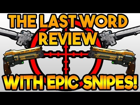 OP SNIPES WITH THE LAST WORD! FUNNY! (The Last Word Review) | Destiny 2 Gameplay thumbnail