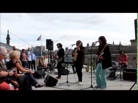 Them Beatles -  Don't Let Me Down - Liverpool Central Library (Rooftop) 29.08.15