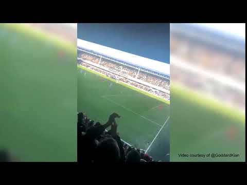 Crowd Cheers For Nahki Wells At QPR Game, Jan 2020